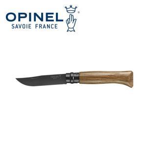 OPINEL オピネル ステンレススチール No.8 ブラックオーク 41531 【ナイフ/アウトドアナイフ】|highball