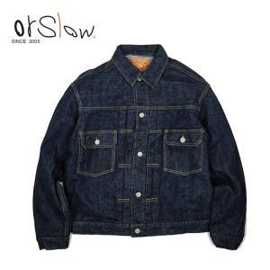 Orslow オアスロウ 50'S DENIM JACKET ONE WASH デニム ジャケット ワンウォッシュ 01-6002-81 【Gジャン/ジーンズ/ファッション/アウター/おしゃれ】|highball