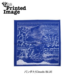 The Printed Image/ザ・プリンテッドイメージ  バンダナ/Clouds BLUE 【メール便・代引不可】|highball
