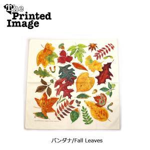 The Printed Image/ザ・プリンテッドイメージ  バンダナ/Fall Leaves 【メール便・代引不可】|highball