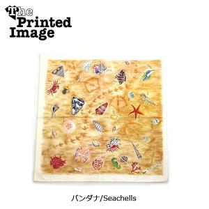 The Printed Image/ザ・プリンテッドイメージ  バンダナ/Seachells 【メール便・代引不可】|highball