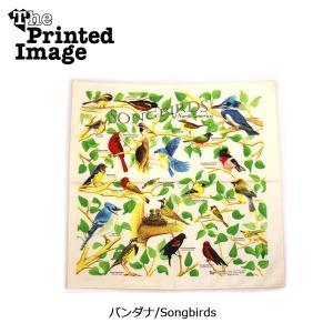 The Printed Image/ザ・プリンテッドイメージ  バンダナ/Songbirds 【メール便・代引不可】|highball