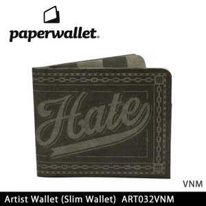 PaperWallet ペーパーウォレット ウォレット Artist Wallet (Slim Wallet)/VNM ART032VNM 【雑貨】財布 タイベック素材 紙の財布【メール便・代引不可】 highball