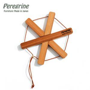 Peregrine Furniture ペレグリンファニチャー 圧縮杉の鍋敷き スター 【ポッドスタンド/グッズ/木/ウッド/アウトドア】|highball