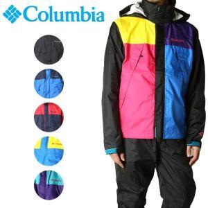 コロンビア Columbia レインスーツ シンプソンサンクチュアリレインスーツ Simpson Sanctuary Rainsuit PM0124 【服】レインコート 日本正規品 メンズ highball