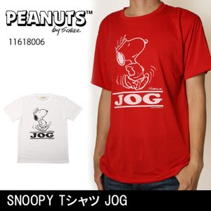PEANUTS ピーナッツ Tシャツ スヌーピー SNOOPY Tシャツ JOG 11618006 【メール便・代引不可】|highball