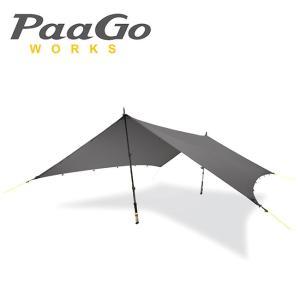 PaaGo WORKS パーゴワークス タープ ニンジャタープ NJ-01-DG/CT801DGR 【TENTARP】【TARP】日よけ アウトドア イベント キャンプ|highball