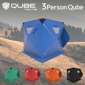 QUBE TENT キューブテント 3Person Tent 三人用テント 【ワンタッチテント/クイックピッチテント】|highball