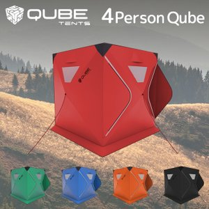 QUBE TENT キューブテント 4Person Tent 四人用テント 【ワンタッチテント/クイックピッチテント】|highball