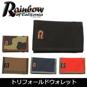 Rainbow of California レインボーオブカリフォルニア トリフォールドウォレット 19780003【メール便・代引不可】|highball