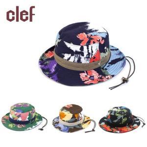 clef/クレ 帽子 キャップ REV. CAMOFLOWER HAT RB3473|highball