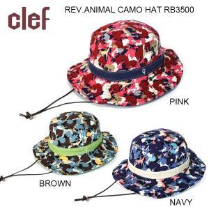 clef/クレ 帽子 ハット REV.ANIMAL CAMO HAT RB3500|highball
