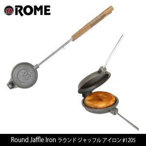 Rome Pie Iron/ローム Round Jaffle Iron ラウンド ジャッフル アイロン #1205 highball