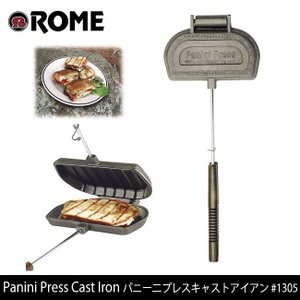 Rome Pie Iron/ローム Panini Press Cast Iron パニー二プレスキャストアイアン #1305 highball