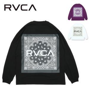 RVCA ルーカ RF PAISLEY LT ペイズリーロングスリーブTシャツ BA042069 【長袖/トップス/アウトドア】【メール便・代引不可】|highball
