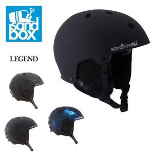 2019 SANDBOX サンドボックス ヘルメット LEGEND レジェンド ASIA FIT 【スノー雑貨】アジアフィット|highball