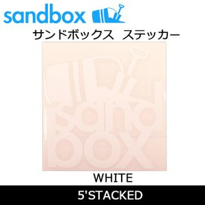 SANDBOX サンドボックス 5'STACKED/WHITE|highball