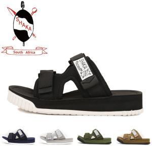 SHAKA/シャカ サンダル CHILL OUT 433036 【靴】日本正規品 メンズ レディース ブラック カジュアル オーシャンズ ビギン サファリ|highball