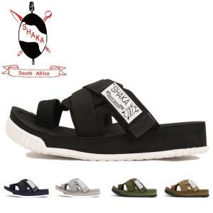 SHAKA/シャカ サンダル TRIPPER 433039 【靴】日本正規品 メンズ レディース ブラック カジュアル オーシャンズ ビギン サファリ|highball