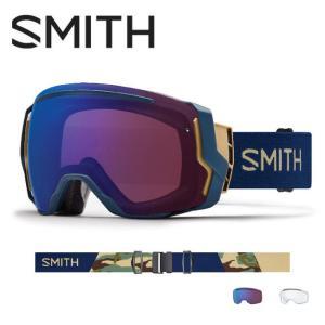 2019 スミス SMITH OPTICS I/O 7 Navy Camo Split CP Photochromic Rose Flash【調光】  /Clear|highball