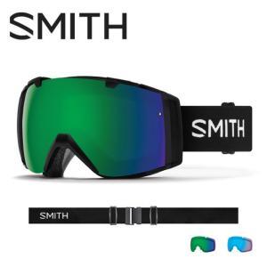 2019 スミス SMITH OPTICS I/O Black CP Sun Green Mirror / CP Storm Rose Flash  【2019/ゴーグル/日本正規品/ジャパンフィット/アジアンフィット】|highball