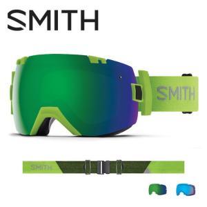 2019 スミス SMITH OPTICS I/OX Flash CP Sun Green Mirror / CP Storm Rose Flash  【2019/ゴーグル/日本正規品/ジャパンフィット/アジアンフィット】|highball