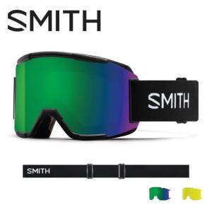 2019 スミス SMITH OPTICS Squad Black CP Sun Green Mirror / Yellow  【2019/ゴーグル/日本正規品/ジャパンフィット/アジアンフィット】|highball