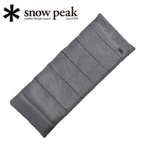 Snow Peak スノーピーク SSシングル BD-105GY 【キャンプ/アウトドア/シェラフ/寝袋】|highball
