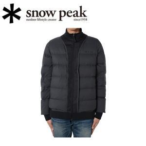 スノーピーク snowpeak ダウンジャケット ベンチレーションダウンジャケット M ブラック JK-15AU00103BK 【SP-APPL】