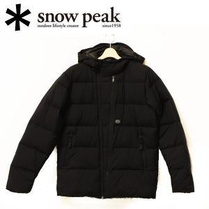 スノーピーク snowpeak ダウンジャケット/ユーティリティポケットダウンジャケット L ブラック/JK-15AU60104BK 【SP-APPL】