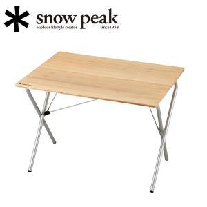 スノーピーク snowpeak ファニチャー/ワンアクションテーブル竹/LV-010T 【SP-FUMI】|highball