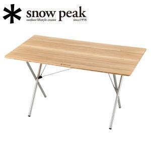 スノーピーク snowpeak ファニチャー/ワンアクションテーブルロング竹/LV-015T 【SP-FUMI】|highball