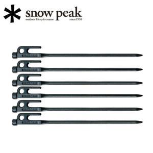 sp-r-103-1【snowpeak/スノーピーク】テント・タープ小物/ソリッドステーク30 6本...