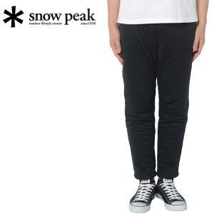 スノーピーク snowpeak フレキシブルインサレーションパンツ L ブラック/SW-15AU00404BK 【SP-APPL】