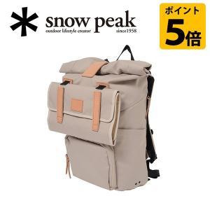 スノーピーク snowpeak バックパック/トラベルバックパック アイボリー/UG-211IV 【SP-APPL】|highball