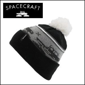 SPACECRAFT/スペースクラフト ビーニー Snowcat Pom/Black 日本正規品 【...