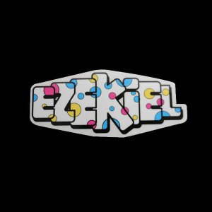 EZEKIEL ステッカー A 6cm×14cm|highball