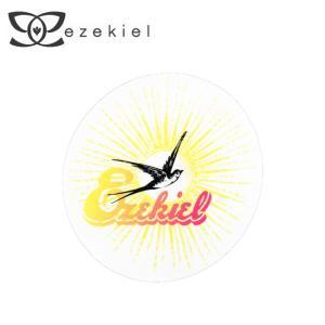 EZEKIEL ステッカー C 13.5cm×13.5cm(円形)|highball