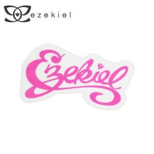 EZEKIEL ステッカー E PINK 4cm×8cm|highball