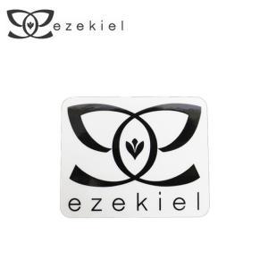 EZEKIEL ステッカー G BLACK 6.5cm×8cm|highball
