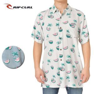 RIP CURL リップカール MELONS SS SHIRT T01-121 【シャツ/半袖/ファッション/アウトドア/リゾート/タウンユース】|highball