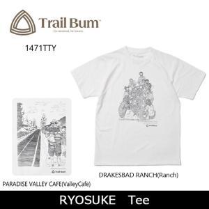 TRAIL BUM トレイルバム Tシャツ RYOSUKE Tee 1471TTY 【服】メンズ レディース ユニセックス【t-cnr】【メール便・代引不可】|highball