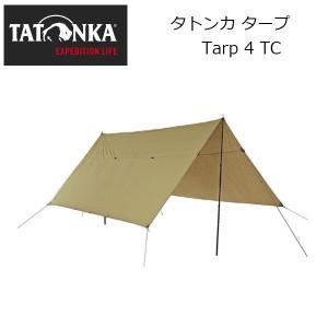 TATONKA タトンカ タープ Tarp 4 TC 285×400/AT8004 【TENTARP】【TARP】|highball
