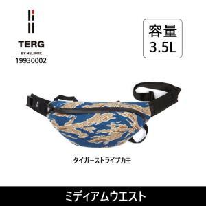 TERG/ターグ ミディアムウエスト 19930002 タイガーストライプカモ 【カバン】ウエストバック バッグ|highball