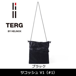 TERG/ターグ サコッシュ V1 (#1) ブラック 19930016001000 【カバン】ショルダーバッグ 鞄【メール便発送・代引不可】|highball