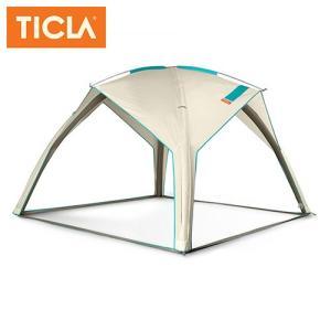 TICLA/ティクラ サンシェード シェイドーインフレイト/アンティークホワイト/19951002 アウトドア キャンプ|highball
