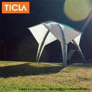 TICLA/ティクラ サンシェード シェイドーペキーニュ/アンティークホワイト/19951003 アウトドア キャンプ|highball