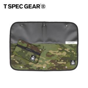 T SPEC GEAR ティースペックギア PLACE MAT プレイスマット BLACK×TROPIC CAMO T-M21003 【ランチョンマット/インテリア/キャンプ】【メール便・代引不可】 highball