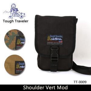 Tough Traveler タフトラベラー ショルダーバッグ Shoulder Vert Mod (ショルダー ヴァート) TT-0009【メール便・代引不可】|highball