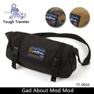 Tough Traveler タフトラベラー ショルダーバッグ Gad About Mod Mod TT-0010 【カバン】【メール便・代引不可】|highball